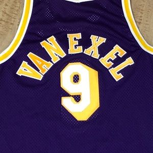 2c8f0742418 Champion Shirts - Champion Authentic LA Lakers Nick Van Exel Jersey